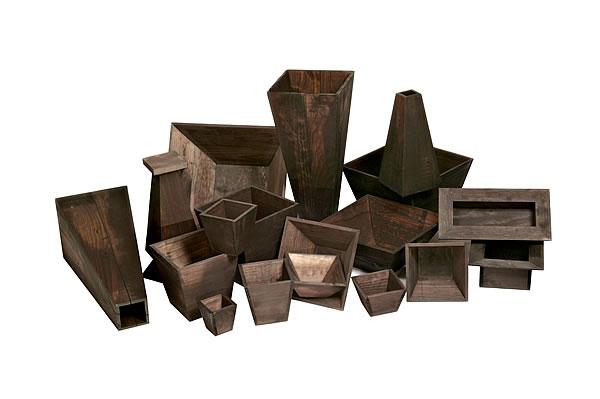 Mestres s a u tiestos de madera para jardiner a - Tiestos de madera ...